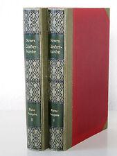 Sievers - Allgemeine Länderkunde - 1. Auflage (1914) in 2 Leinen-Bänden -