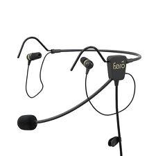 FARO AIR In-Ear Premium Pilot/Aviation Headset - GA plugs - FARO-AIR-GA