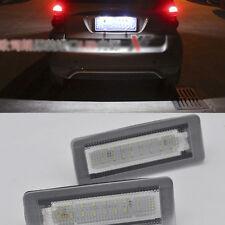 2x LED sans numéro de plaque d'immatriculation pour Smart W451 fortwo 2007-2015