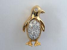 Diamond Yellow Gold Fine Brooches & Pins