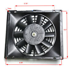 12V Radiator Thermo Electric Cooling Fan Zongshen 200/250/300 cc Quad  ATV Buggy