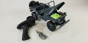 2.4G 1:10 Model 1941 World War 2 Hobby Grade Radio Control RC Willy's MB JEEP