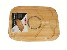 Alta Qualità Hevea incisione su legno bordo 40 x 30 cm carne di volatili da cortile con punte Anello