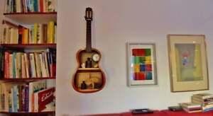 Guitar shelf, guitar shelf, unique, furniture object, musician furniture, origin