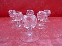 6 Noble Kristall-Leuchter__Candelabro__Villeroy & Boch _