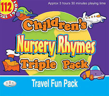 Children's Nursery Rhymes Triple Pack: Travel Fun Pack by CRS Records (CD-Audio, 2007)