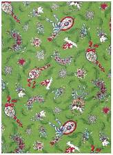 Christmas Angels on High Green Tossed Mofits South Sea bty PRICE REDUCED
