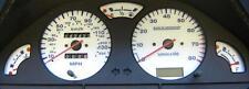 Lockwood Citroen Saxo 145MPH with Rev Counter & Oil Gauge WHITE (B) Dial Kit
