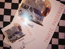 dossier presse RENAULT TRAFIC PASSENGER / 2003 / FRANCAIS