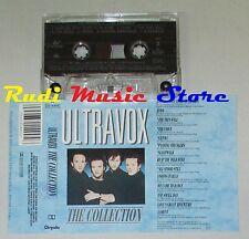 MC ULTRAVOX the collection 1984 italy CHRYSALIS 64 3214904 cd lp dvd vhs