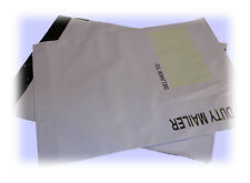 """20 x HEAVY DUTY MAILING BAGS. Approx 350mm x 425mm (14""""x17"""") Self seal post bag."""