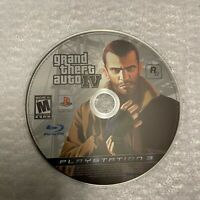 Grand Theft Auto IV 5 Playstation 3 Disc Only Rockstar Video Game Shooter