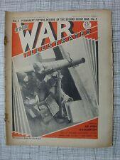 The War Illustrated #9 (Finland WW2 Turkey, U-Boat, BEF, Rank & Cap Badges, RAF)