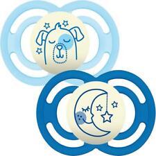 MAM Perfect Night Soother │ Custodia da viaggio auto-sterilizzante │ Baby Ciuccio DUMMY │ │ Grigio