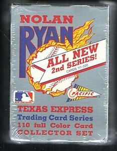 1991 Pacific Nolan Ryan Texas Express 2nd Series Set Factory Sealed (111-220)