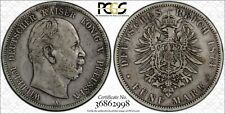 1874-A Prussia Germany 5 Mark World Silver Coin KM #503 PCGS Gold Shield VF 35