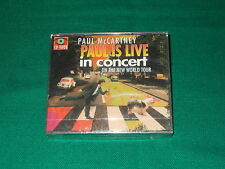 PAUL MCCARTNEY PAUL IS LIVE IN CONCERT ON THE NEW WORLD TOUR CD-I LEGGI DETTAGLI