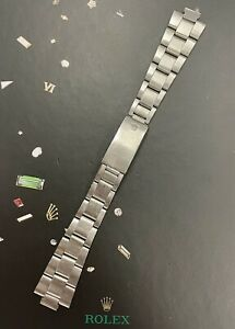 Rolex Date Air King Mens Oyster Bracelet 7835 19mm SS Band  Ref: 1501