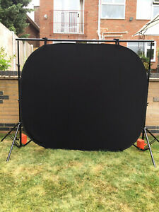 Lastolite Black Collapsible Background 5ft x 6ft with Bag