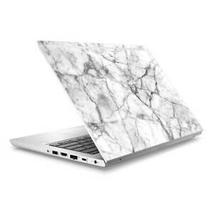 Marble Skin Sticker Wrap to Cover HP Probook 430 G5 G6 Top Lid Australian Made