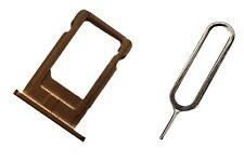 Support de carte sim pour iPhone 6 et 6 plus Card Holder tray support en or