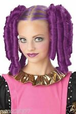 NEW Anime Curls with Hairscara Halloween Costume Wig (Magenta) purplegirl women