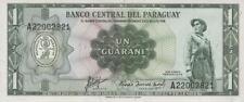 Paraguay 1 guaraní l.1952 pick 193b