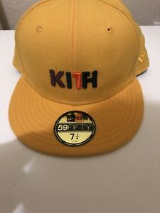 KITH YELLOW HAT LOGO