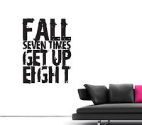 Large Quote Work For It Inspirational Gym Studio Wall Art Sticker Graphic