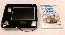 uDraw Game tablet with uDraw Studio: Instant Artist - Black - Nintendo Wii THQ