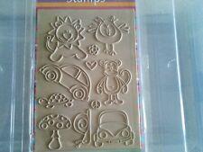 Panduro Hobby Retro Animal Stamps