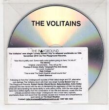 (GJ553) The Volitains, Lovely Bones - 2010 DJ CD