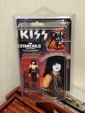 KISS - StarChild, Paul Stanley -BIF BANG POW! SERIES 1 ACTION FIGURE New w/ Case