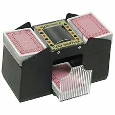 4 Deck Automatic Card Shuffler - Requires 4 AA Batteries by Trademark Poker