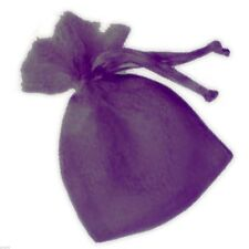 Small Purple Organza Bags Pack of 10 - XNB035