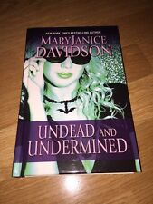 Undead and Undermined by MaryJanice Davidson ~ Hardcover ~ Large Print HC HB