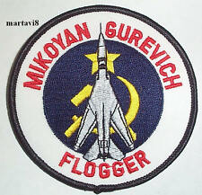 Russian Air Force`FLOGGER` Aircraft Cloth Badge / Patch (R7)