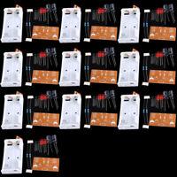 10pcs Flash Circuit Multivibrator Circuit Suite DIY Kit For Electronic Teaching