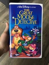 Walt Disney The Great Mouse Detective (1992, VHS) Rare Black Diamond Classics