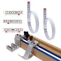 T-track Miter Track Tape Measure Self Adhesive Steel Ruler Miter Saw Sc bjJCAU