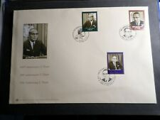 United Nations Un, FDC 1° Day, U Thant, 6.2.2009, 3 Postmarks, Wien, Geneve & Ny