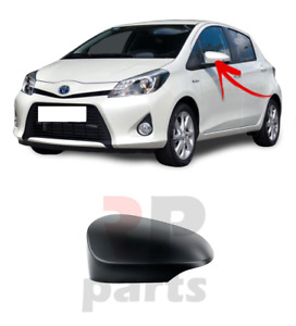 FOR TOYOTA YARIS 2011 - 2019 NEW WING MIRROR COVER CAP FOR PAINTING LEFT N/S