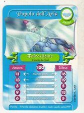 figurina - CARD GORMITI - ATOMIC FALCOSILENTE