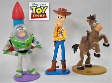 Toy Story - Bundle - Mini Figures X 3 - Disney - Hasbro - Genuine - Official
