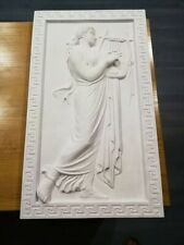 Nymphe Stuck gips Griechische Skulptur Griechisches Bild Relief Greek Reliefs