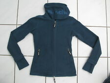 Bench Fleece Jacke Grau-Grün S