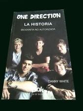 ONE DIRECTION - LA HISTORIA Biografia no Autorizada - THE HISTORY Book D. White