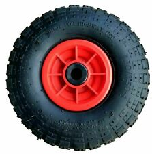"""PK OF 2 - 10"""" PNEUMATIC SACK TRUCK TROLLEY WHEEL 4.10 - 4 CHOOSE YOUR BORE SIZE"""
