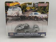 2019 Hot Wheels Car Culture Team Transport #13 Porsche 356A Outlaw VW T1 Pickup