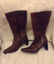 Barrett's, Boots* , Tan shade, zip fasten, heels, UK  3.